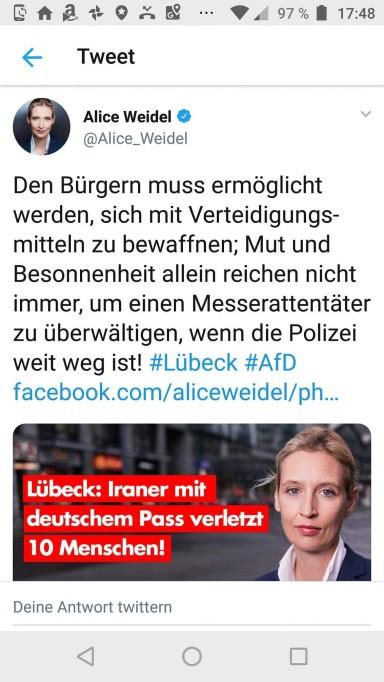 alice Weidel Tweet